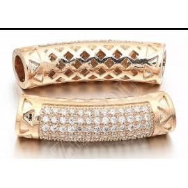 Angyal-Aura kvarc /Hegyikristály /rosegold